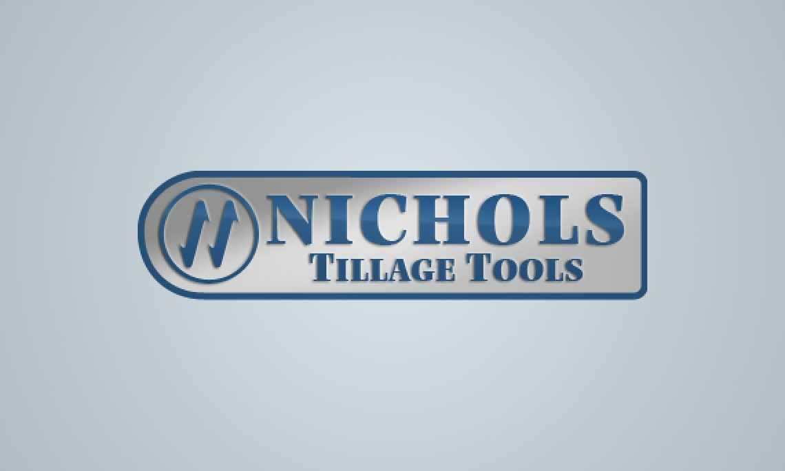 Gray logo for Nichols Tillage Tools